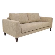 Casablanca 3 Seater Sofa - Rustic Beige