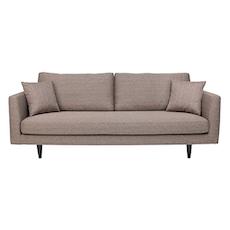Los Angeles 3 Seater Sofa - Desert Brown