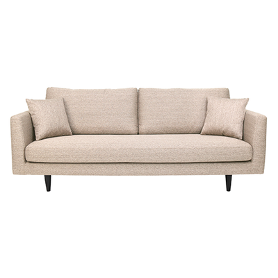 Colin 3 Seater Sofa - Light Brown - Image 1