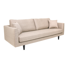 Los Angeles 3 Seater Sofa - Light Brown
