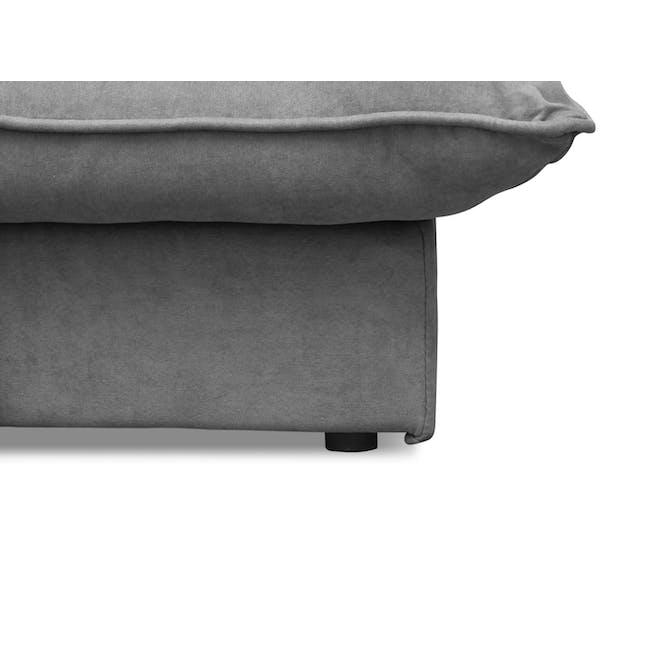 Tessa Storage Lounge Bed - Pigeon Grey - 10