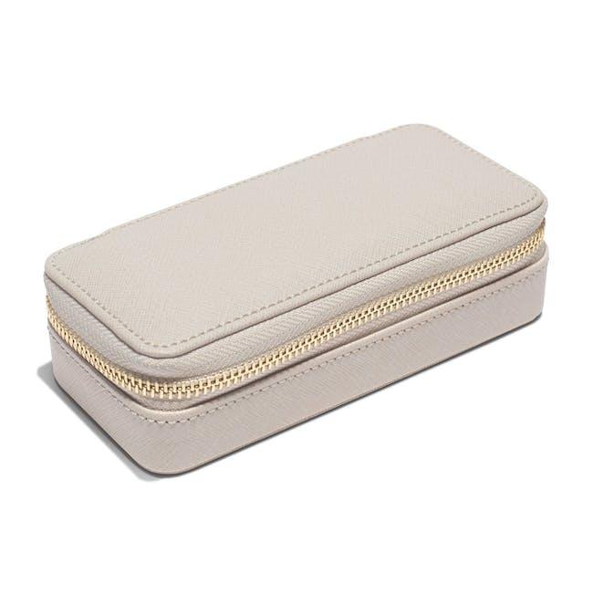 Stackers Medium Travel Jewellery Box - Taupe - 3