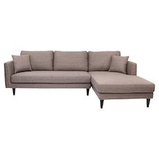 Los Angeles L-Shape Sofa - Desert Brown