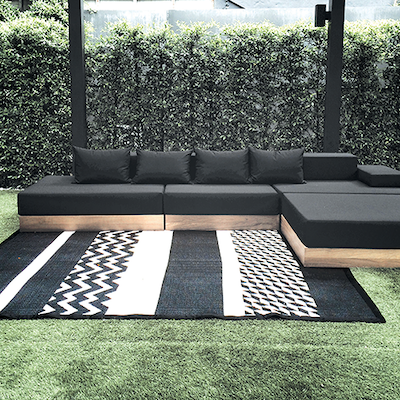 Katve Mat - Black/White