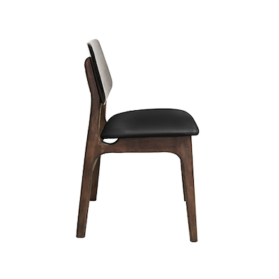 (As-Is) Miki Dining Chair - Black - 3 - Image 2
