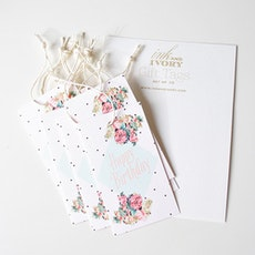 Happy Birthday Gift Tags (Pack of 10)