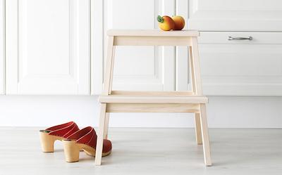 Max Wooden Step Stool - Natural - Image 2