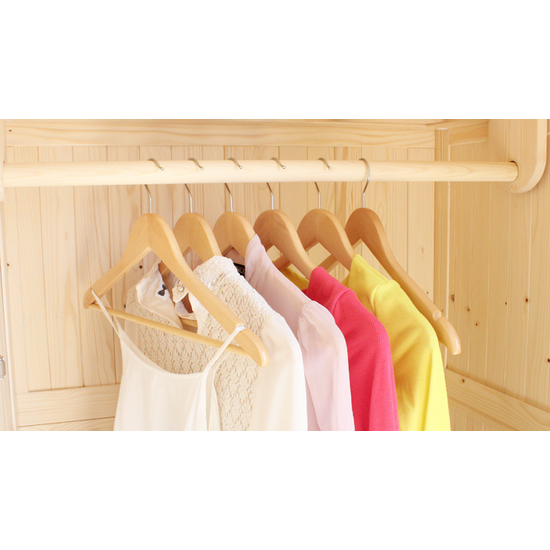 HipVan Bundles - Wooden Hangers (Set of 10) - Natural