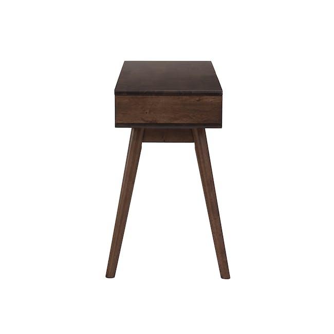 Lamar Console Table 1.2m - Walnut - 4