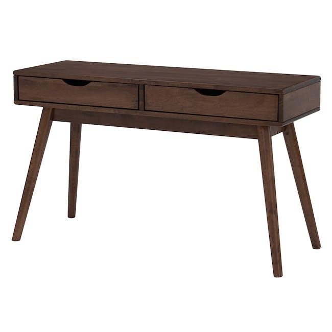 Lamar Console Table 1.2m - Walnut - 2