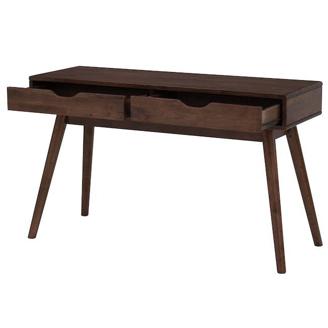Lamar Console Table 1.2m - Walnut - 1