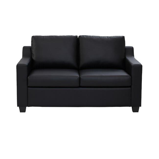 Baleno 2 Seater Sofa - Espresso (Faux Leather) - 0