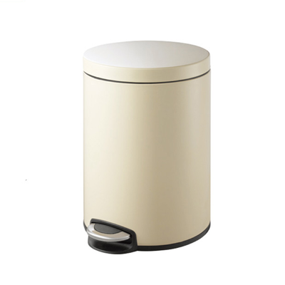 Serene Soft Close Step Bin 20L - Cream