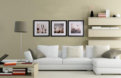 12-Inch Square Wooden Frame - Black - Image 2