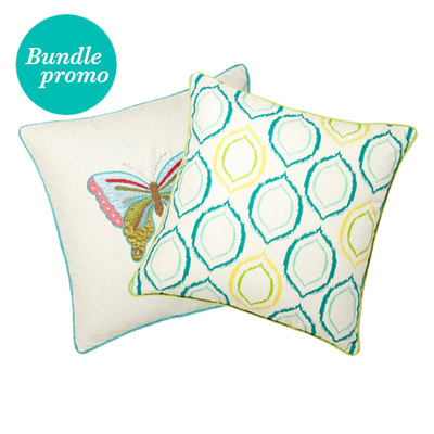 Breux And Ories Lime Green Cushion Covers