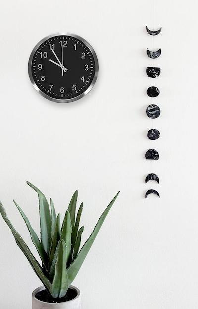 Chrome Frame Wall Clock - Image 2