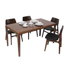 Milan 4 Seater Dining Set