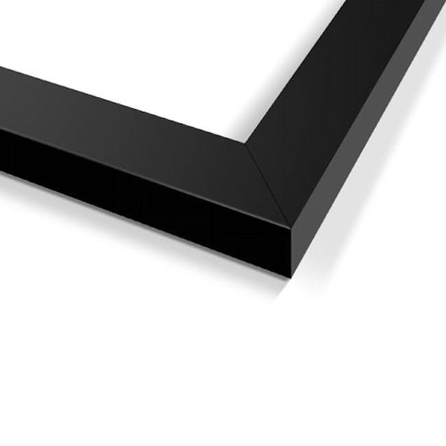 A4 Size Wooden Frame - Black - 1
