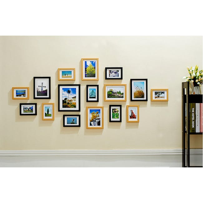 A4 Size Wooden Frame - Natural - 5