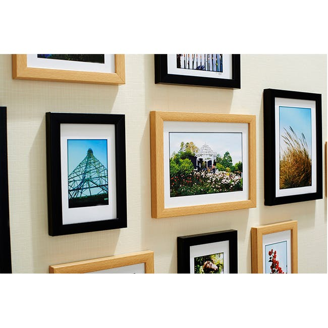A4 Size Wooden Frame - Natural - 4