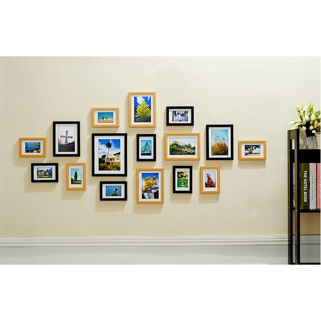 A2 Size Wooden Frame - Natural - 5