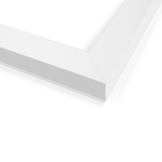 HipVan 12-Inch Square Wooden Frame - White | HipVan