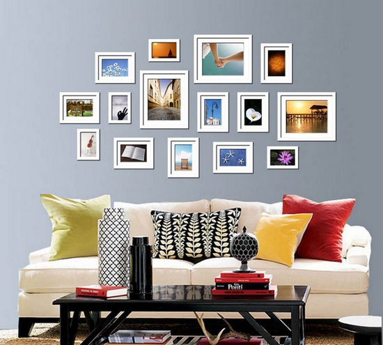 1688 - A4 Size Wooden Frame - White