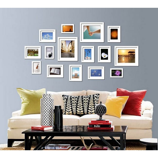 A2 Size Wooden Frame - White - 4