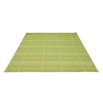 Essenza Plaid Rug - Green