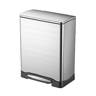 Neo-Cube Soft Close Step Bin 30L - Silver - Image 1