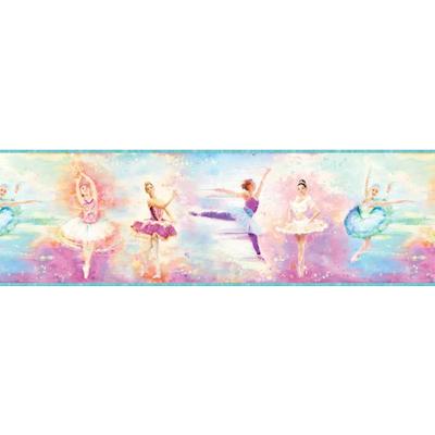 Blue Ballet Portrait Border Wallpaper - Image 2