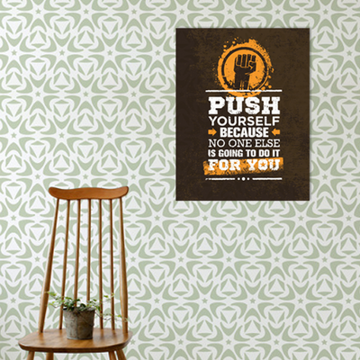 Push Yourself Print Poster - Image 2