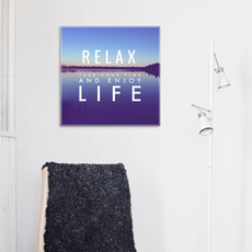 Relax Print Poster