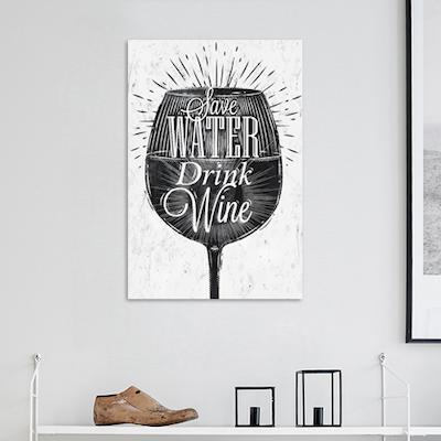 Drink Wine Print Poster - Image 2