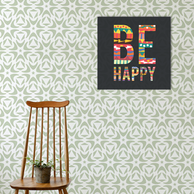 Be Happy Print Poster - Image 2