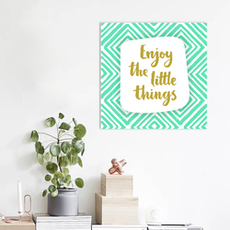 Little Things Print Poster