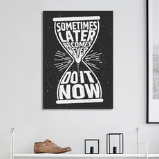 Do it Now Print Poster
