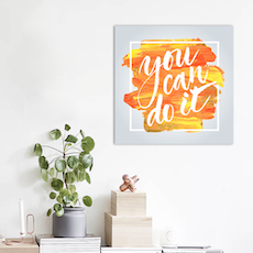 You Can Print Poster
