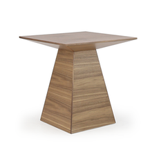 [As-Is] Pyramid Base Side Table - 1