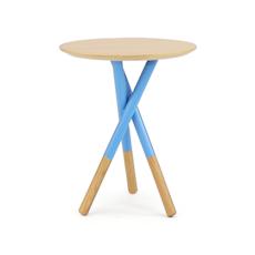 Tri Side Table - Blue