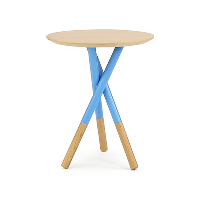 Tri Side Table - Blue - Image 1