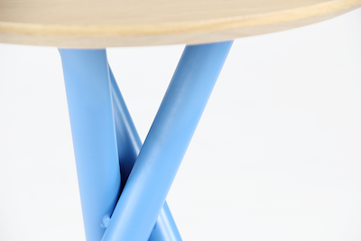 Tri Side Table - Blue - Image 2