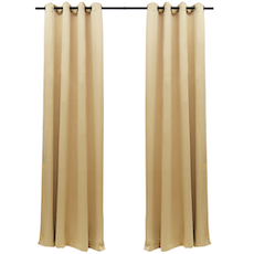Terra Black-Out Curtain (Set of 2) - Sand