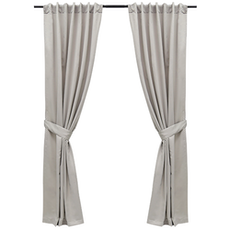 Tuli Curtain (Set of 2) - Grey