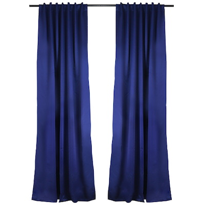 Tuli Curtain (Set of 2) - Blue - Image 2