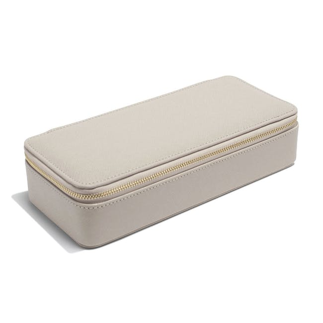 Stackers Large Travel Jewellery Box - Taupe - 3