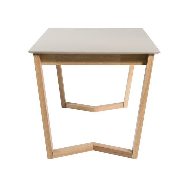 Meera Extendable Dining Table 1.6m - Natural, Taupe Grey - 13