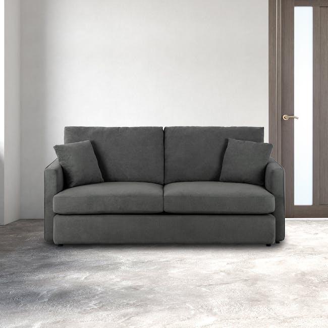 Ashley 3 Seater Lounge Sofa - Granite - 1