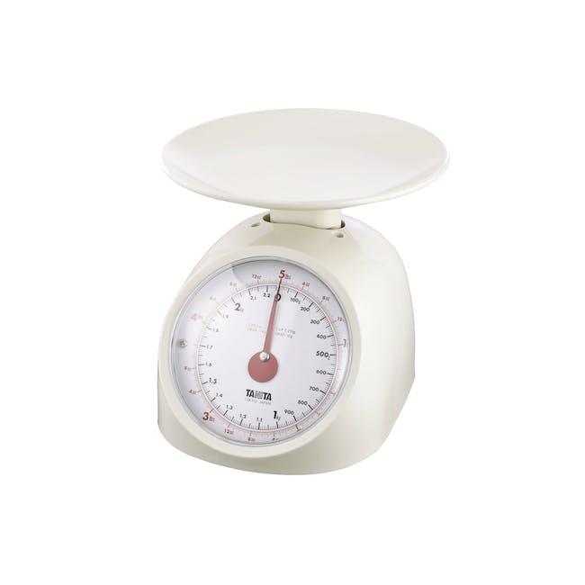 Tanita Mechanical Kitchen Scale 1kg - White - 0