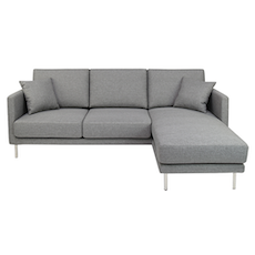 Sydney L-Shape Sofa - Granite Rock